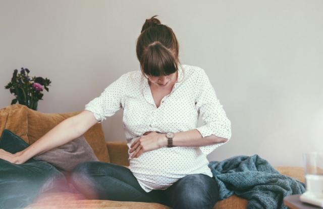začetek poroda