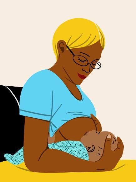 8 položajev za lažje dojenje ki jih je vredno poizkusiti