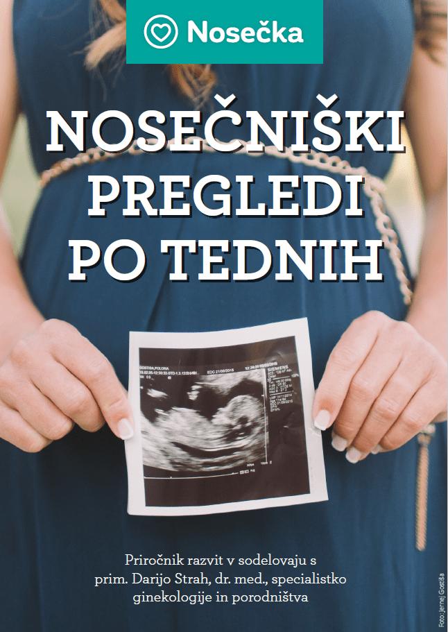 priročnik nosečniški pregledi po tednih