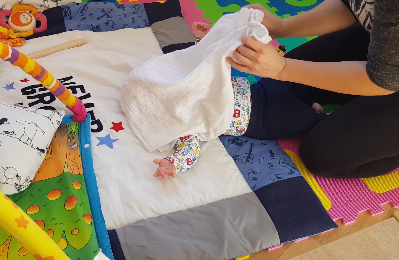 igre za razvoj dojenčka